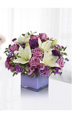 Pleasing Purple Bouquet